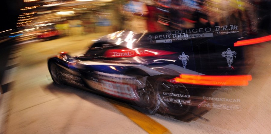 Peugeot Le Mans Hour 12 Report