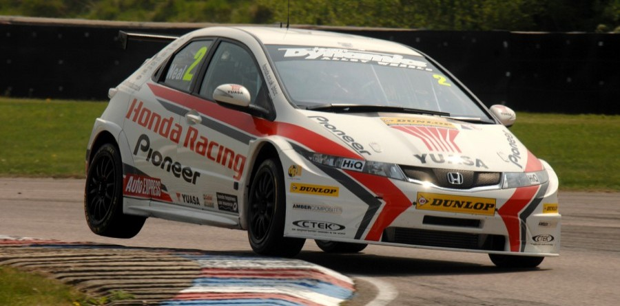 Matt Neal Wins Race 1 At Croft