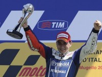 MotoGP Yamaha Rider Lorenzo Powers To Italian GP Glory