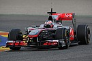 McLaren Extends Formula One Deal With Paffett