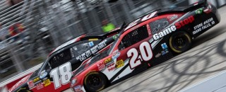 Joey Logano Favorite At Nationwide Kentucky 300