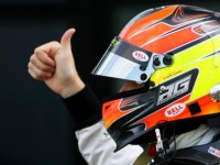 DAMS Team GP2 Sprint Race At Silverstone Report