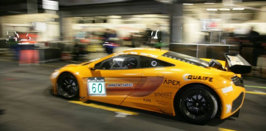 Debut Of MP4-12c At Spa 24H Endurance Event