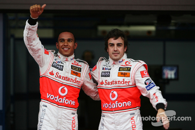 Alonso has fond memories of Hamilton pairing