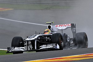 Williams Belgian GP - Spa qualifying report