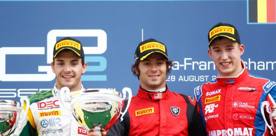 Spa race 2 press conference