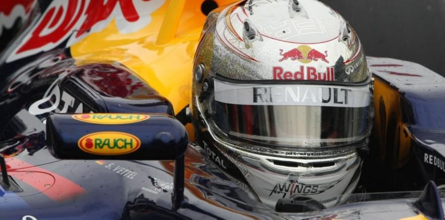 Vettel vows to 'fight hard' despite huge lead