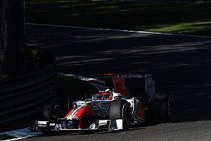 HRT Italian GP - Monza Friday practice report