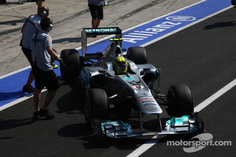Mercedes Italian GP - Monza Friday practice report