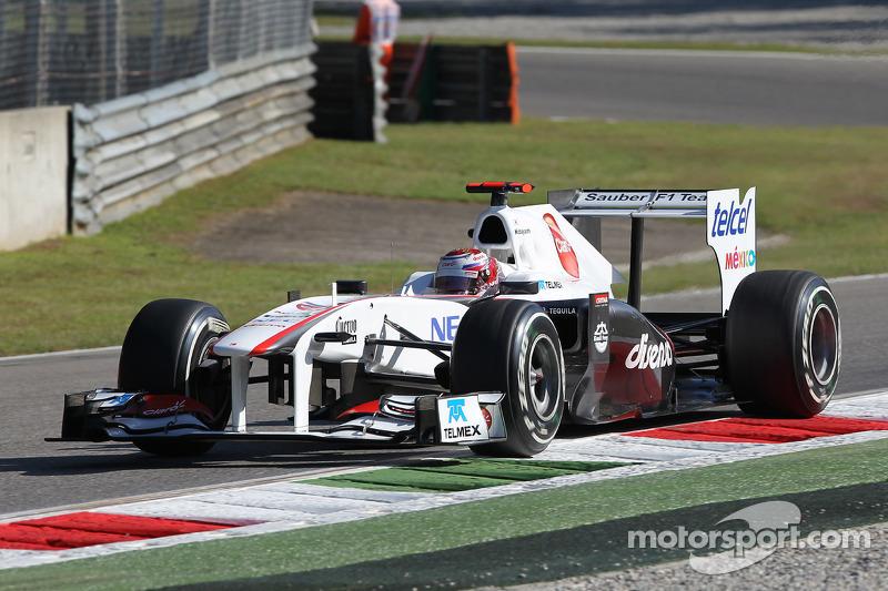 Sauber Italian GP - Monza race report