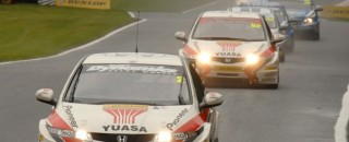 BTCC Honda duo takes battle to Rockingham