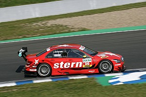 DTM Van der Zande 13th after splitter issue
