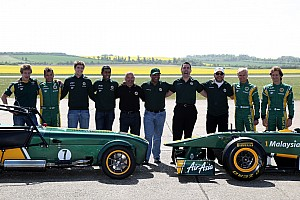 Money a factor as Team Lotus eyes 2012 name change