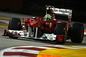 Ferrari Singapore GP qualifying report