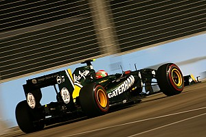 Team Lotus Singapore GP race report
