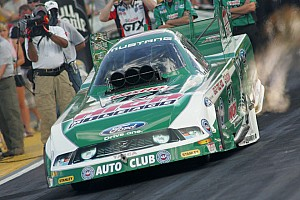 NHRA John Force Racing Reading Friday report