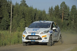 WRC Academy Rally de France event summary