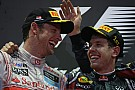 Button fastest, Vettel crashes but title race almost over