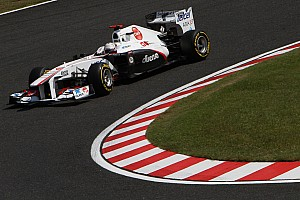 Sauber Japanese GP - Suzuka race report