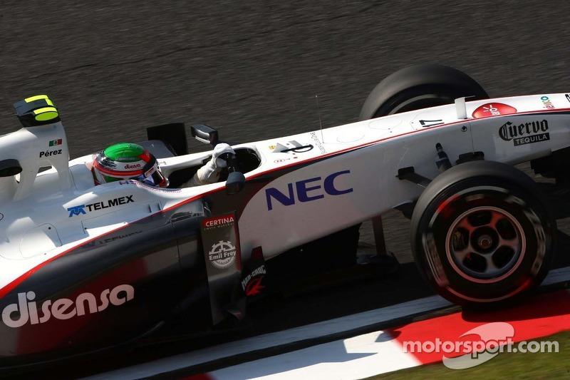 Sauber Japanese GP - Suzuka race report