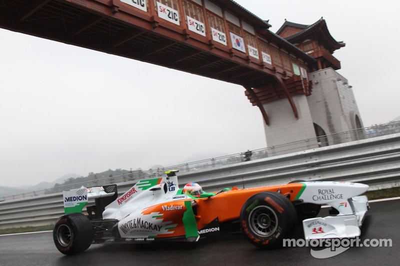 Force India Korean GP - Yeongam qualifying report