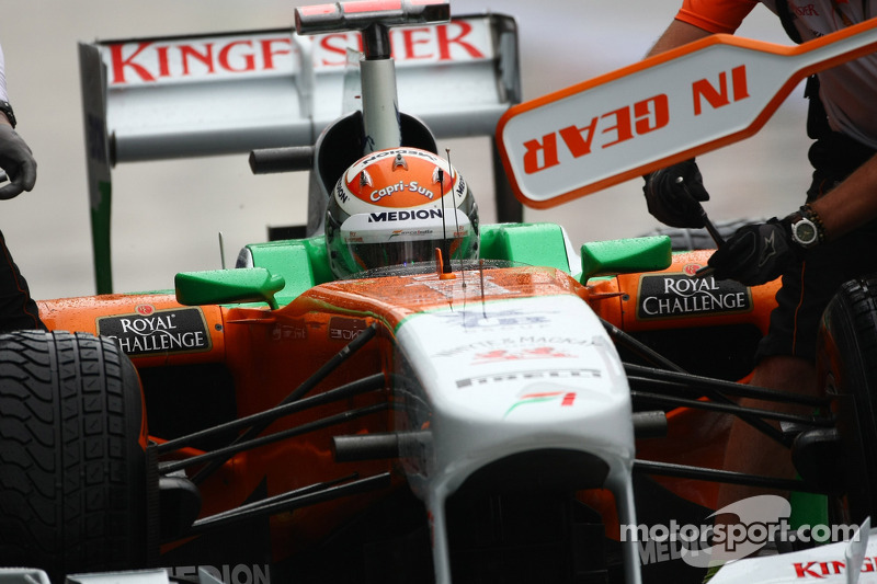 Force India Korean GP - Yeongam qualifying report