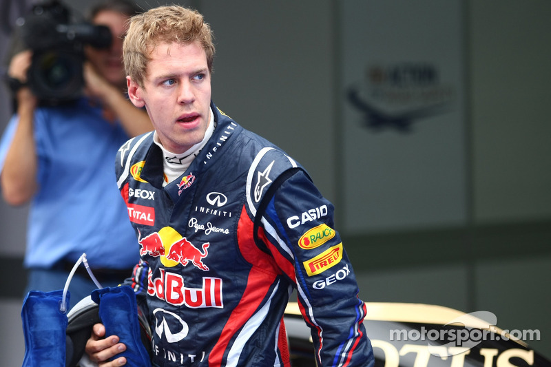 Eyebrows raise after Vettel's rude salute