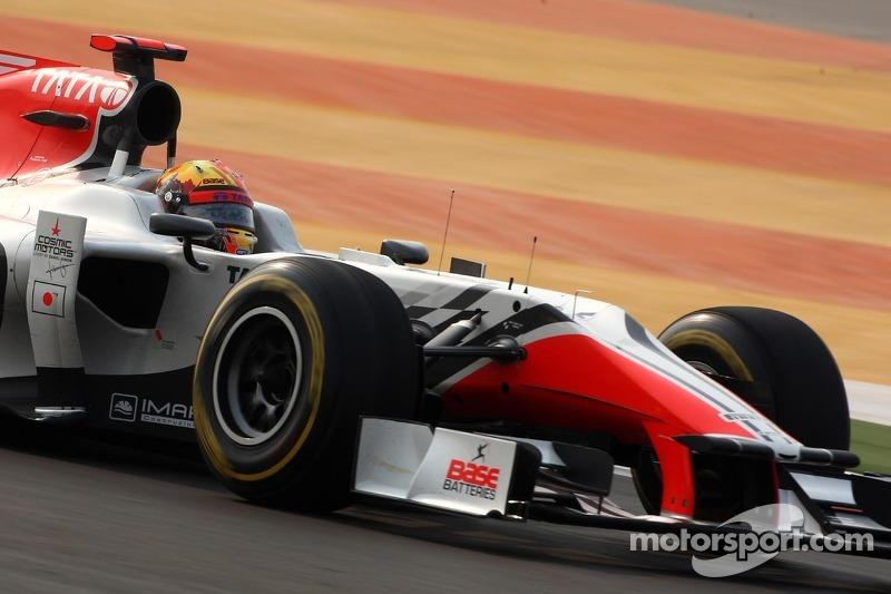 HRT Indian GP qualifying report