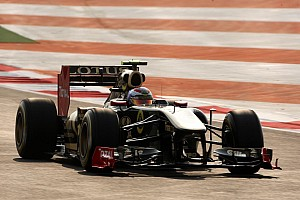 Lotus Renault Indian GP qualifying report