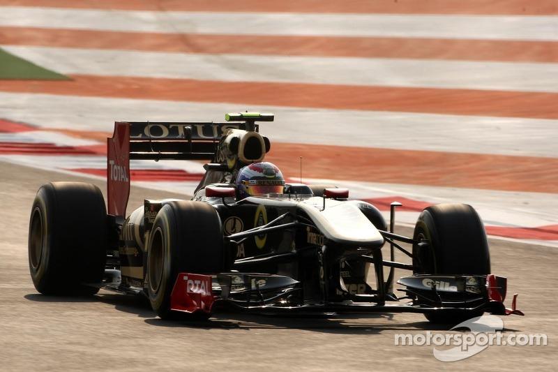Lotus Renault Indian GP qualifying report