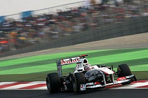 Sauber Indian GP race report