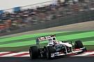 Sauber Indian GP race report