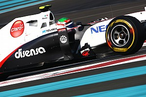 Sauber Abu Dhabi GP race report