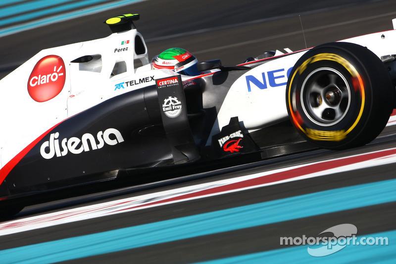 Sauber Abu Dhabi GP race report