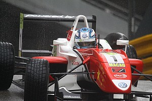 F3 Starting grid for Macau GP Qualification Race