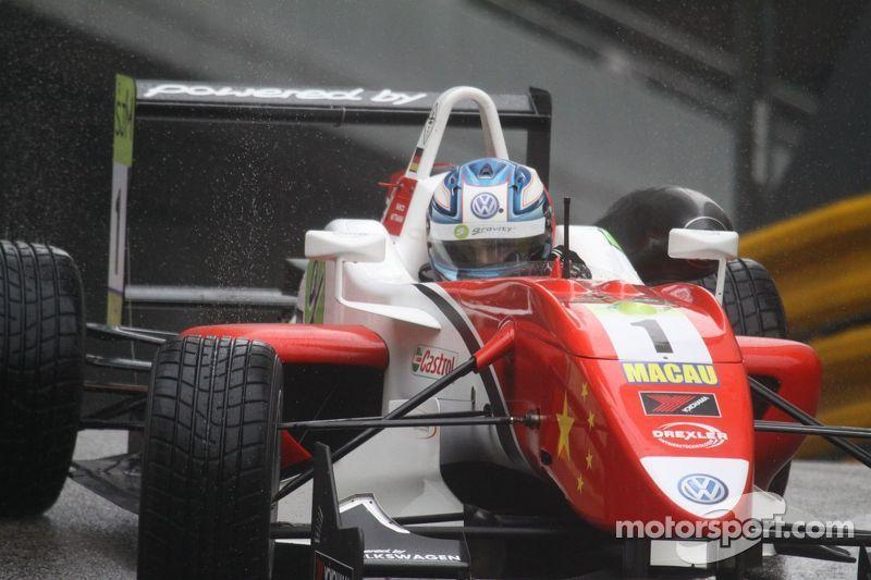 Starting grid for Macau GP Qualification Race