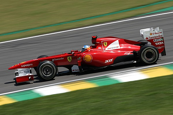 Ferrari Brazilian GP Friday practice report