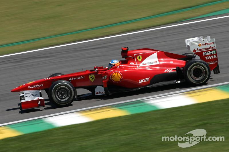 Ferrari Brazilian GP Friday practice report