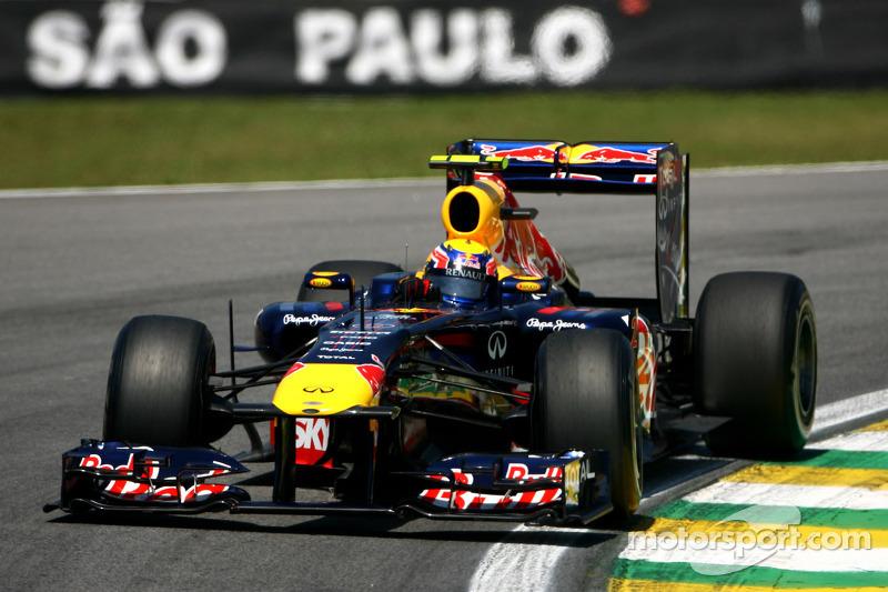 Webber finishes 2011 season finale in style and wins Brazilian GP