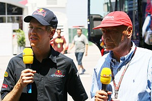 Formula 1 Lauda tips Red Bull to pull ahead in 2012