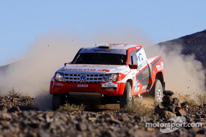 Loomans earns Africa Eco Race penultimate stage nine win
