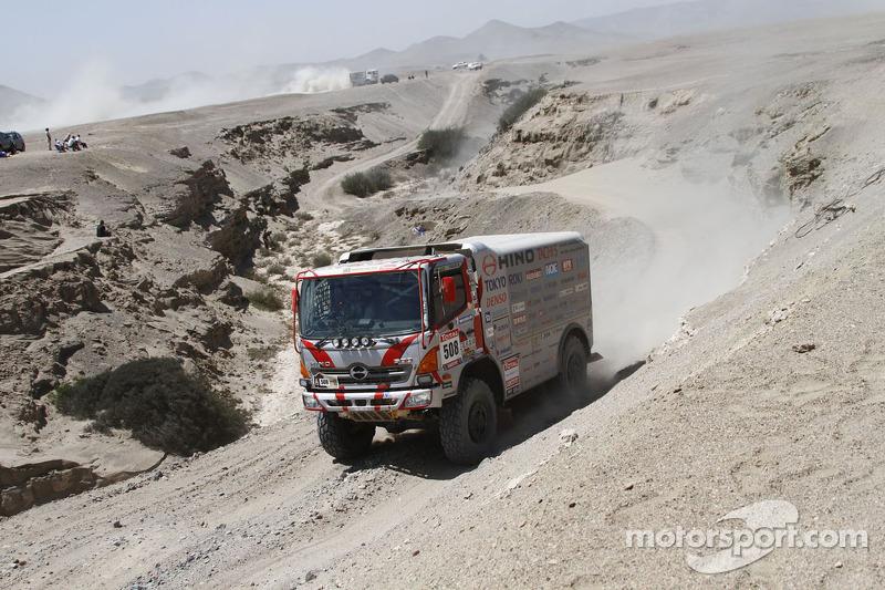 Hino takes under 10 liter Truck win
