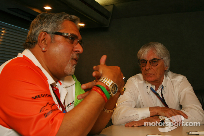 Force India can be like Red Bull - Mallya
