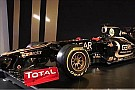 Lotus reveals 2012 car with stepped nose