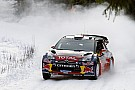 Breaking news: Loeb crashes in Rally Sweden
