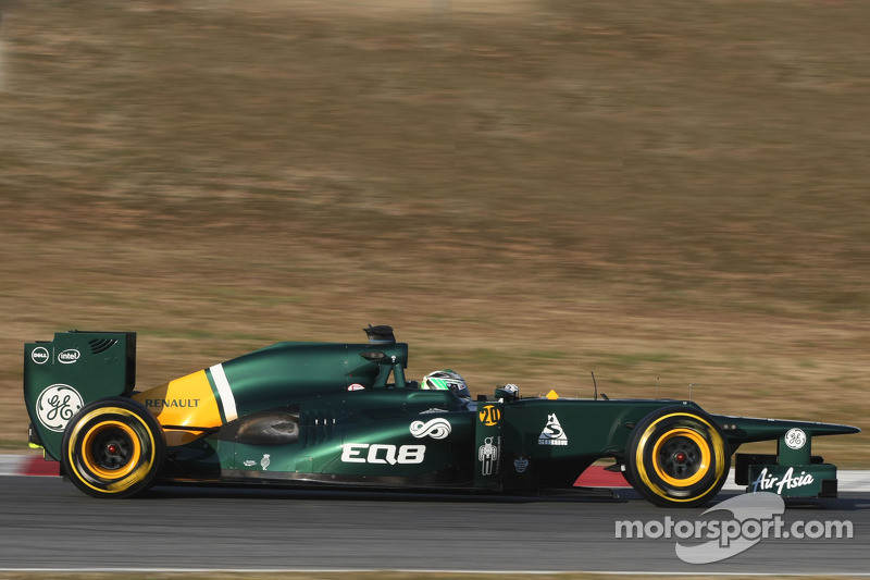 Caterham Barcelona testing -  Day 4 report