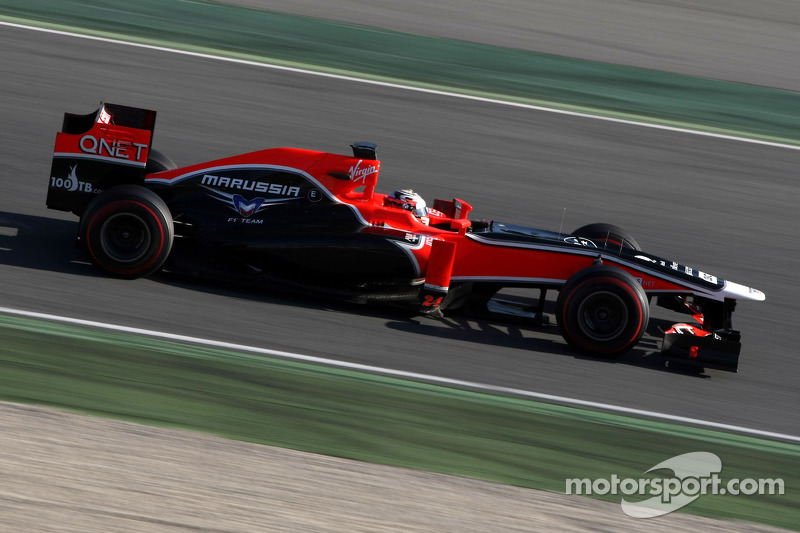 Marussia MR01 fails final FIA crash test