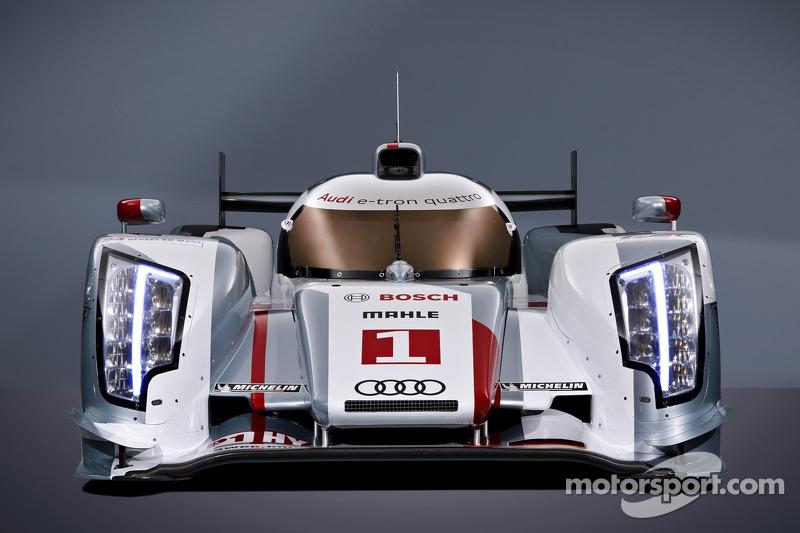 Audi unveils the Audi R18 e-tron
