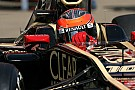 Grosjean quickest for Lotus during first day of Barcelona testing