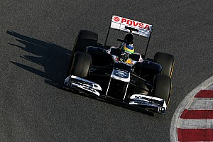 Williams Barcelona test II -  Day 2 report